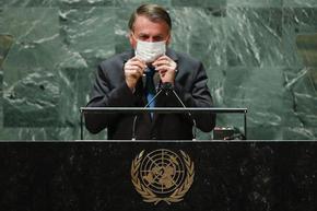 Синът на Болсонаро е вторият заразен с коронавирус в бразилската делегация в ООН