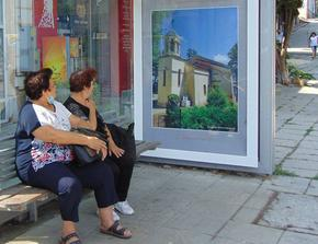 Облепиха автобусни спирки в Шумен с красиви снимки