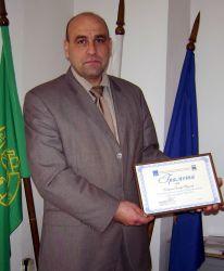 Община Велики Преслав с награда за най-добро изпълнение на проект по ОПРР