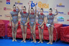 Ансамбълът по художествена гимнастика спечели титлата в София