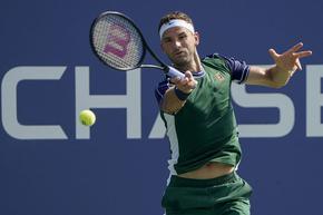 Григор Димитров потегли с чиста победа на US Open