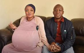 Рекорд: Южноафриканка роди 10 бебета, заченати по естествен път