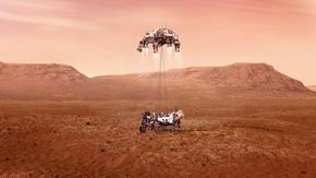 НАСА показа видео с кацането на Марс