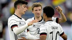 Германия вкара седем гола в последната си проверка преди европейското