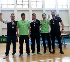"""Бронзови медали за отбора на """"Роко-Шумен"""" във Висшата лига по тенис на маса"""