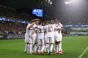 Звездната атака на ПСЖ не заблестя в луда нощ с 28 гола в Шампионската лига