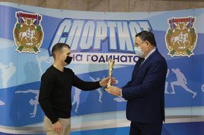 Каратистът Цветан Урумов е спортист №1 на Шумен за 2020 г.