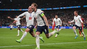 Дузпа в продълженията прати Англия на първи финал на европейско по футбол