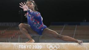 Симон Байлс обяви, че се завръща за финала на греда в гимнастиката