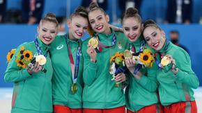 Българските гимнастички изпълниха мечтата и стъпиха на олимпийския връх в Токио