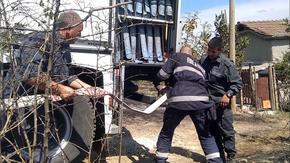 """Министърът на вътрешните работи награди с 3000 лв. огнеборците, гасили пожара над """"Дивдядово"""""""