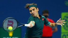 Федерер пропусна мачбол и отпадна в Доха