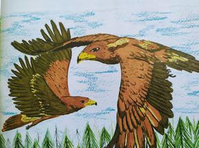 """Обявиха ученически национален конкурс за рисунка """"""""Земите и горите на орела"""""""