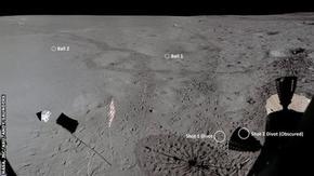 Разкриха на какво разстояние е отскочила топката за голф, ударена от Алън Шепард на Луната