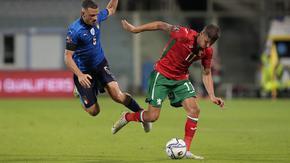 Футболните национали измъкнаха точка от европейския шампион