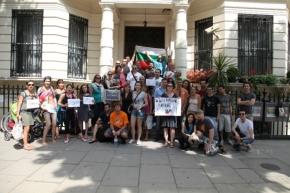 Ако е интересно за вас – снимки от протеста в Лондон вчера