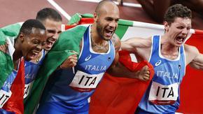 Италия и Ямайка триумфираха в щафетите 4х100 метра в Токио