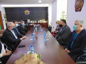 Кметът Христов и новият посланик Едигарян обсъдиха побратимяването на Шумен с град в Армения