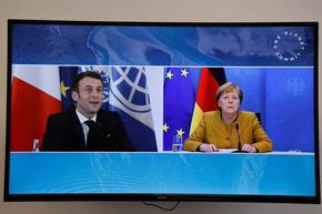 Европейската отбрана – тема на преговори между Меркел и Макрон