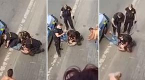 Ромският Джордж Флойд? Чех почина, след като полицай затиска врата му 5 минути