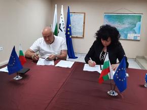 ВиК подписа договор за 14 млн лв. за обновяване на водоснабдителната и канализационната мрежа на Шумен