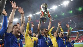 Петима италианци попаднаха в идеалния отбор на Евро 2020