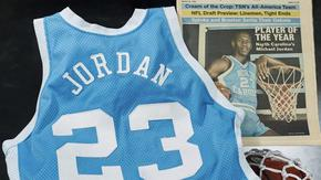 Потник на Майкъл Джордан беше продаден на търг за рекордна сума