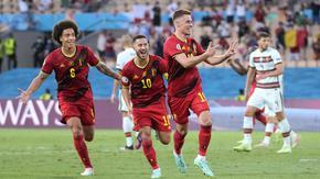 Белгия удържа и детронира европейския шампион Португалия