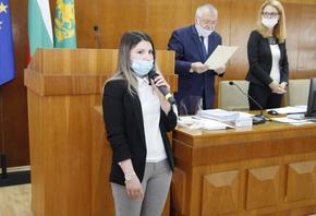 Айсун Ибрямова положи клетва като общински съветник в Шумен