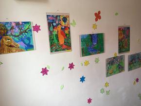 Малки художници от Шумен и страната дариха рисунките си на Комплекса за социални услуги