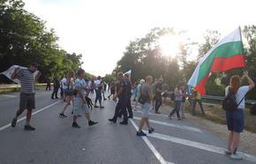 29-и ден на протести: Блокираха пътя София-Варна край Ловеч