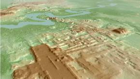 Учени откриха най-голямата постройка на маите - комплекс с дължина 1.4 км