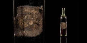 Бутилка коняк на 258 години беше продадена за 131 000 евро