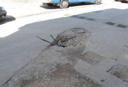 """Дупка на улица """"Васил Левски"""""""