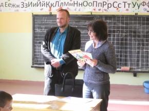 """Училището в Тушовица с кампания """"Голямото четене"""""""