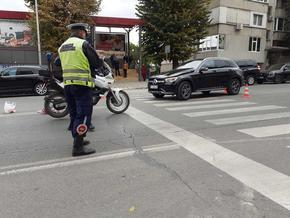 67-годишна жена е с фрактури след инцидент на пешеходна пътека