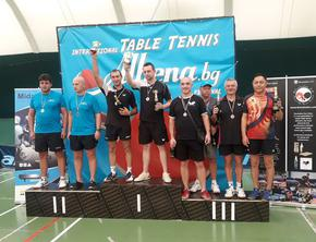 """5 медала за състезателите на """"Роко"""" от турнира по тенис на маса в Албена"""
