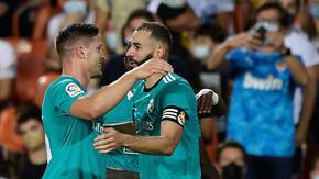 """Късни голове изпратиха """"Реал"""" на върха в Ла Лига"""