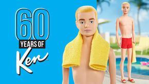 Кен, приятелят на Барби, навърши 60 години