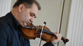 За първи път на шуменска сцена гостува именитият цигулар Роман Федчук
