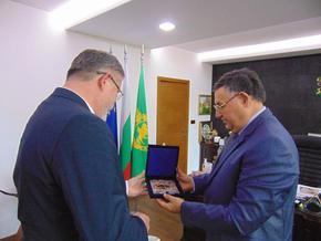 Любомир Христов прие посланика на Полша Мачей Шимански