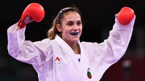 Ивет Горанова стигна полуфинал в каратето и гарантира нов български медал