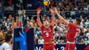 Българските волейболисти пречупиха Беларус и остават на европейското