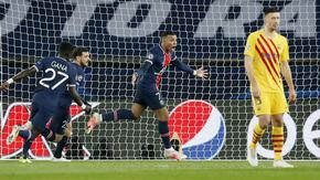 """ПСЖ удържа щурма на """"Барселона"""" и продължава към четвъртфиналите"""
