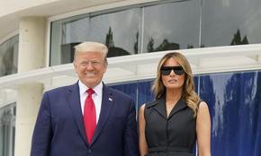 Фалшива усмивка, а има ли фалш в брака на семейство Тръмп