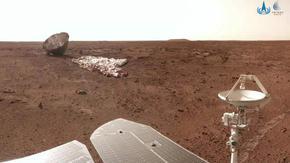 Китайският марсоход е готов за нова мисия след края на 90-дневната си програма