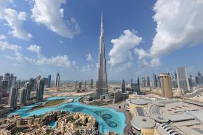 Най-високата кула в света ще бъде озарена от дарения