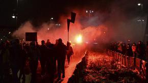 Полската полиция арестува протестиращи срещу забраната за абортите в Полша