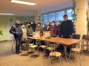 Българско-турската търговско-индустриална камара дари хранителни пакети на социално слаби хора