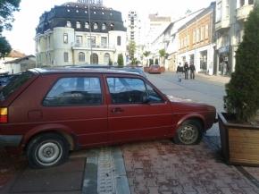 Паркинг за стари коли